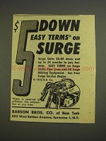 1955 Babson Bros. Surge Milking Products Ad