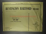 1956 Huntington Hartford Theatre Ad - Joy Ride