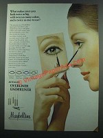 1971 Maybelline Automatic Overliner and Underliner Ad