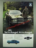 1971 Chevy Caprice Ad - You've Changed