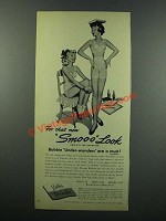 1949 Formfit Bobbie Under-Wonders Bra, Briefs Ad