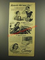 1949 Camay Soap Ad - Memories That Never Fade