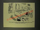 1949 Cartoon by Robert Kraus - Electric-Blanket Company