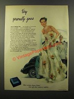 1947 Kotex Sanitary Napkins Ad - Very Personally Yours