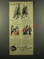 1947 Kotex Sanitary Napkins Ad - In the Know?