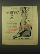 1947 Movie Star Slips Ad - Good Behavior Slip #100