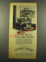 1946 Southern Comfort Ad - Make it a Manhattan