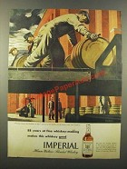 1946 Hiram Walker's Imperial Whiskey Ad - 88 Years