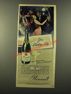 1946 Renault Champagne Ad - Your Birthday Party