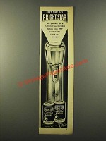 1946 Bright Star Flashlight Battery Ad - Next Time Say