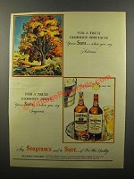 1946 Seagram's 5 Crown and 7 Crown Whiskey Ad