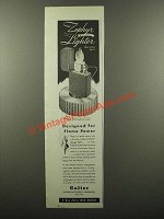 1945 Galter Zephyr Wind-Proof Lighter Ad