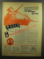 1943 AC Spark Plugs Ad - Sentries on Motorized