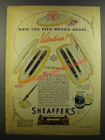 1942 Sheaffer's Pens Ad - Lady Sheaffer, Vigilant