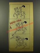 1942 Pepsi-Cola Soda Ad - Art by O. Soglow