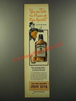 1940 Old Mr. Boston Apricot Nectar Ad - Taste Flavor