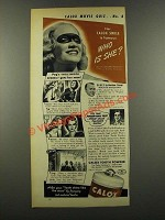 1940 Calox Tooth Powder Ad - Miriam Hopkins
