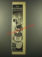 1940 Glenmore Bourbon Ad - Pour Glenmore You Get More