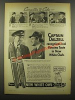 1940 White Owl Cigars Ad - Commuter to Cuba