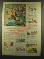 1940 Borden's Milk Ad - From Barn to Boudoir - Elsie