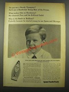 1940 Ipana Tooth Paste Ad - See A Sturdy Youngster?