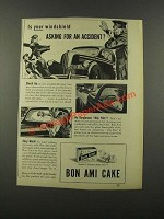 1940 Bon Ami Cake Ad - Asking for an Accident