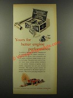 1939 Champion Spark Plugs Ad - Better Engine