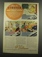 1939 Pullman's Railroad Cars Ad - Stretch Travel Dollar