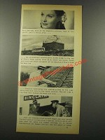 1939 Sinclair Oil Ad - Gail Patrick