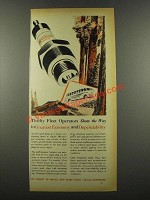 1939 Champion Spark Plugs Ad - Thrifty Fleet Operators