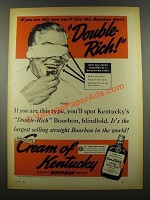 1939 Cream of Kentucky Bourbon Ad - Norman Rockwell