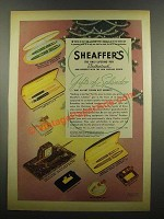 1939 Sheaffer's Pens Ad - Lady Sheaffer, Crest, Admiral