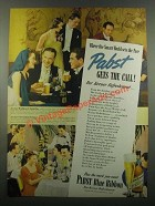 1939 Pabst Blue Ribbon Beer Ad - Smart World