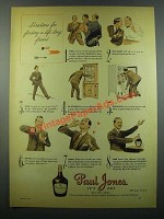 1939 Paul Jones Whiskey Ad - Life-Long Friend