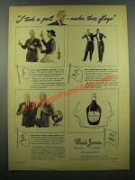 1939 Paul Jones Whiskey Ad - I Took a Poll