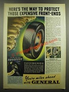1939 General Tire Ad - Here's the Way to Protect