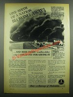 1939 United Brewers Industrial Foundation Ad