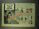 1939 Palmolive Soap Ad - This is For Always, Darling