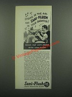1939 Sani-Flush Cleaner Ad - Spring in the Air