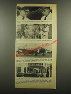 1938 Sinclair Oil Ad - Ben Catlin & Skip Sterling
