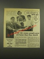1938 Fleischmann's Yeast Ad - Don't Bother Dad, Son