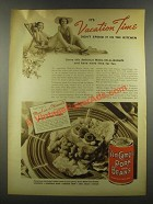 1937 Van Camp's Pork and beans Ad - Vacation Time