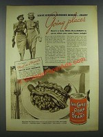 1937 Van Camp's Pork and beans Ad - Going Places