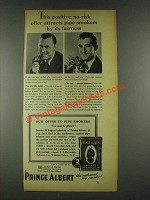 1936 Prince Albert Tobacco Ad - No-Risk Offer