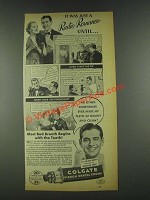 1936 Colgate Ribbon Dental Cream Ad - Radio Romance