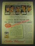 1936 Camel Cigarettes Ad - Ray Stevens, Tommy Armour