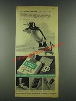 1936 Kool Cigarettes Ad - Dive in And Cool Off