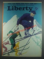 1933 Liberty Feb. 4, 1933 Cover - Arthur Smith
