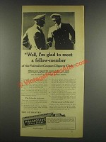 1933 Palmolive Shave Cream Ad - Meet a Fellow-Member