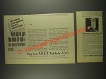 1933 Squibb Adex Tablets-10 D Ad - Raw Winds